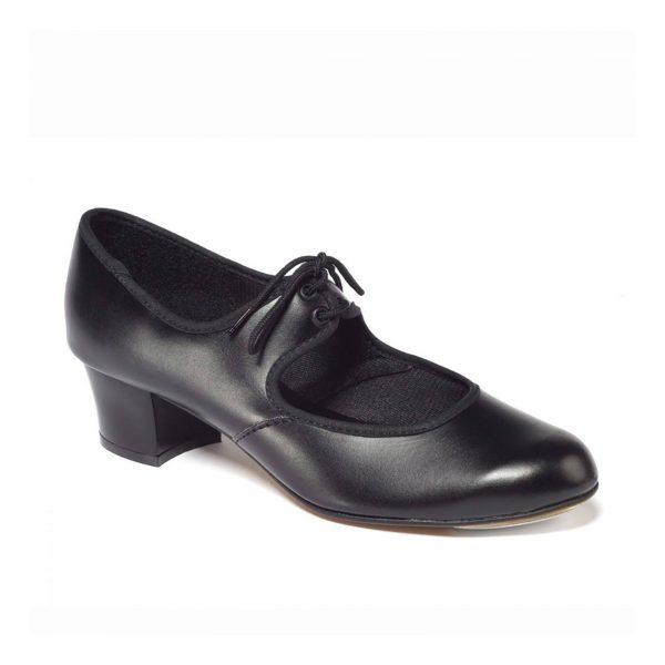 Cuban heel PU tap shoes Aberdeen