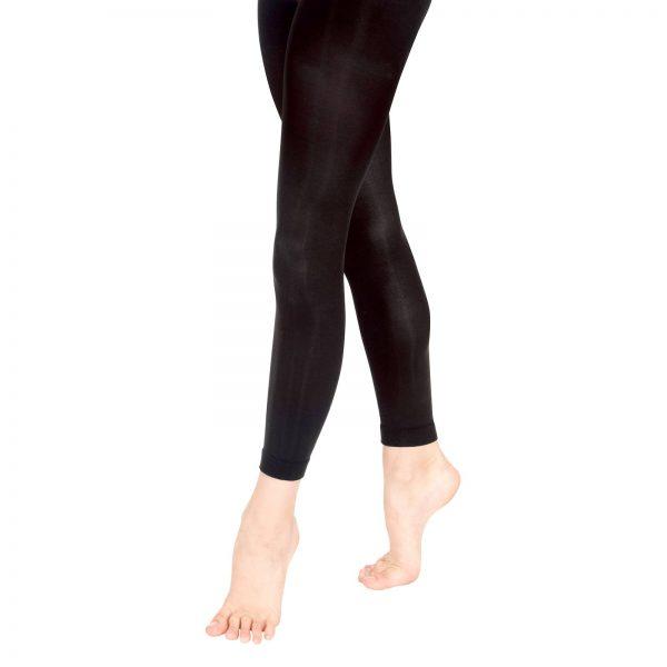 black footless tights aberdeen