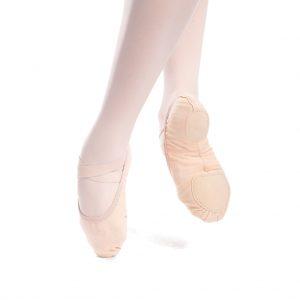 So Danca SD16-VG Split Sole stretch canvas ballet shoe