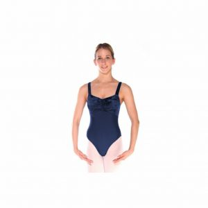 Crushed velvet/Lycra Sleeveless Leotard available in Aberdeen from Rainbow Dancewear - best prices in North East Scotland. Now available click and collect.